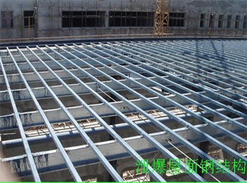 上海钢结构泄爆屋面